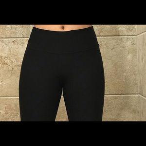 Black Reebok biker shorts
